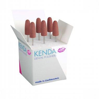 KENDA RED - одношаговая полировочная система  для хромкобальтовых сплавов