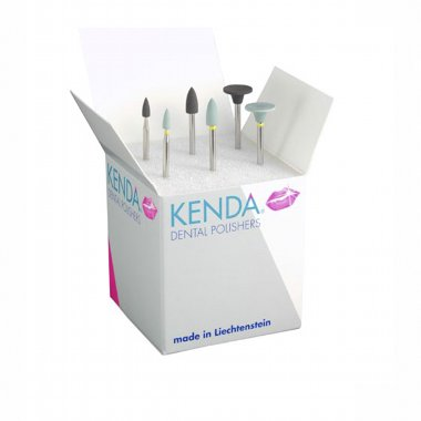 KENDA PRECIOUS UNIVERSAL METALS, HP - двухшаговая система полировки для всех драгоценных и полудрагоценных сплавов