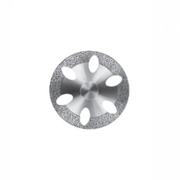 Алмазный диск с овальными отверстиями