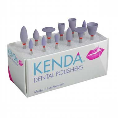 KENDA NOBILIS - одношаговая алмазная полировочная система для композитов и керамики